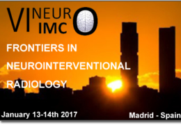 LIVE Stream of Neuro-Interventional Radiology from Madrid Jan 13, 14, HERE, LIVE!