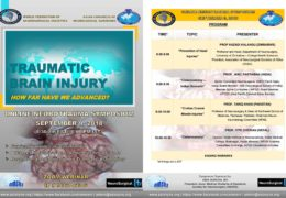 "LIVE, ""Traumatic Brain Injury"": Webcast Presentation Sunday September 9, 2019"