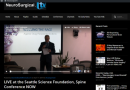 LIVE at the Seattle Science Foundation, Spine Conference NOW
