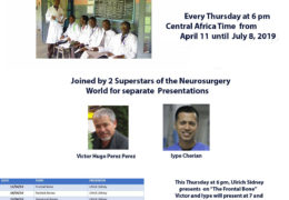 """Yesterday, Young Neurosurgeons of Africa presented, #4 in Neuroanatomy Series: """"The  Occiput"""""""
