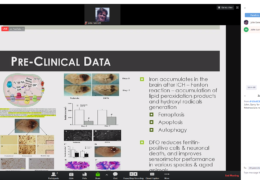"""was….NOW LIVE  Magdy Selim, MD, fulL professor at Harvard University presenting NOW,  """"Deferoxamine for ICH (IDEF Trial)"""""""