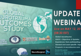 """""""Global Neurotrauma Outcomes Study"""", recorded yesterday,  LIVE May 12, 2019: see every EDITED video on each talk………"""
