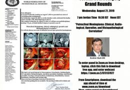 RECORDED Jordan Neurosurgery Grand Rounds from yesterday