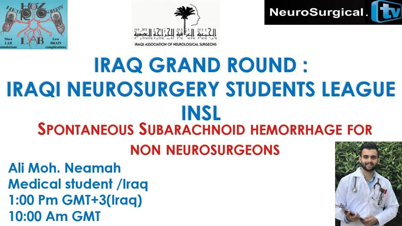 "The First ""Iraq Grand Rounds"" Saturday at 10 am GMT"