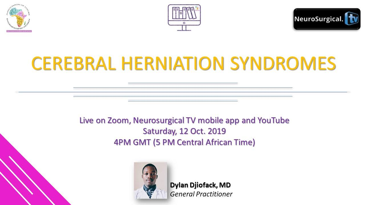 Future Neurosurgeons of Africa WEBCAST NOW LIVE  NOW LIVE