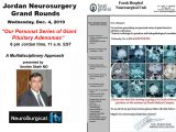 Jordan Neurosurgery Grand Rounds, from Amman, Jordan with Ibrahim Sbeih presenting in about 30 minutes…LIVE HERE