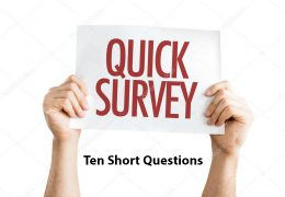"""Request for 1-minute survey on """"Online Conferencing"""", (10 questions)"""