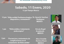 """Webinar de """"Hidrocefalia"""", con 3 presentadores AHORA VIVO"""