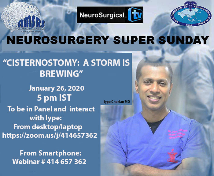 Neurosurgery Super Sunday in less than ONE Hour, LIVE, HERE