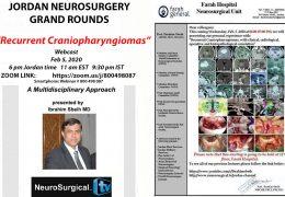 Jordan Neurosurgery Grand Rounds Feb 5, 2020 in NOW LIVE LIVE HERE