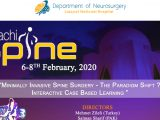 "LIVE, HERE, …Karachi Spine Conference, ""Boot Camp for Neurosurgery Residents"",   Sat 8 am Pakistan time, 10 pm EST Friday"