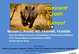 "Lecture from Seattle Science Foundation in Seattle LIVE: ""Imminent Crash: BURNOUT!"""