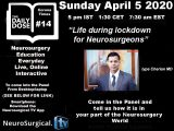 """Daily Dose of Neurosurgery, """"What is it like in Your Part of the World in Neurosurgery"""", LIVE ONLINE"""