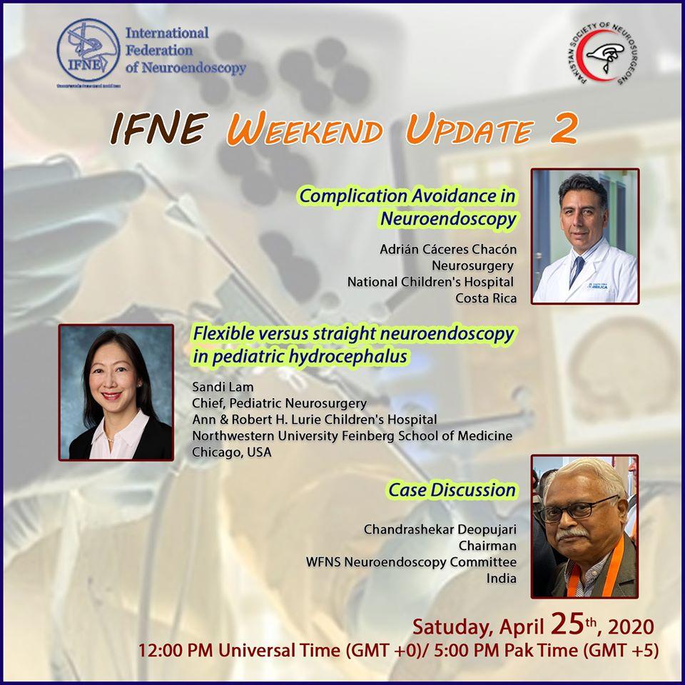 International Federaton of Neuroendoscopy today LIVE, HERE