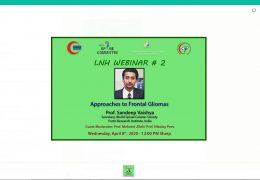 Televising Spine Conference from Liquat Hospital, Karachi, Pakistan, Wednesday 9 pm Pakistan time