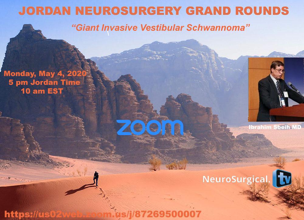 Jordan Neurosurgery Grand Rounds May 4, 2020