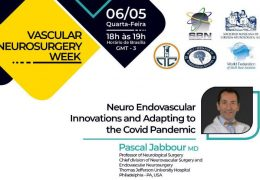 Pascal Jabbour MD, noted Neurovascular Endovascular Neurosurgeron, was LIVE on Covid in Neurosurgery