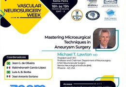 Brazil Neurosurgery Society Presents a Neurovascular Webinar with Michael Lawton MD presenting LIVE NOW