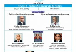 LIVE, NOW, India Pediatric Neurosurgery  Webinar by Top Neurosurgeons of India, Sunday 11 am IST