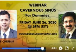 """LIVE NOW, """"Cavernous Sinus for Dummies"""" with Iype Cherian and Naran from India"""