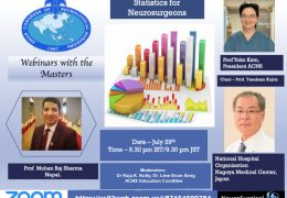 """NOW LIVE, ACNS Residents Webinar, with a presentation of, """"Statistics in Neurosurgery"""""""