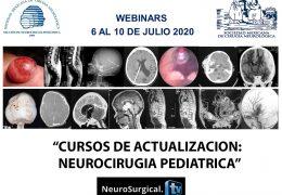 """Esta Semana, """"Cursos de Actualizacion"""" para la communidad de Neurocirugia Pediatrica en LatinoAmerica, a las 4 pm tiempo Mexico, Lunes"""