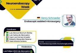 "LIVE, HERE, at 6 pm Brasil time, 5 pm EST,  Brasil Neurosurgery Society presents, ""Endoscopic assisted microsurgery, with Dr. Henry Schroeder, of Germany"