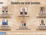 "LIVE, At 5 pm Cairo time, 11 am EST, 8:30 IST, EWNC Academy webinar of Egypt Webcast of ""Occipito-Cervical Junction"""