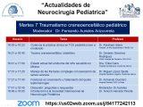 """Segundo Curso de Actualidades de Neurocirugia Pediatrica: Martes: """"Traumatismo Craneoencefalico Pediatrico"""", a las 4 pm tiempo Mexico VIVO"""