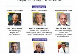 """Skull Base Meningiomas: Surgical Nuances"" with Goel, Deopujari, Benes, Friday August 7, 2020"