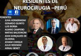 Antes VIVO…….CURSO INTERNACIONAL DE RESIDENTES DE NEUROCIRUGIA, PERÚ- DIA 1. Anatomía Neuroquirúrgica
