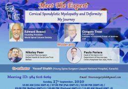 Pakistan Spine Conference 10 am EST, 8 pm Pakistan time