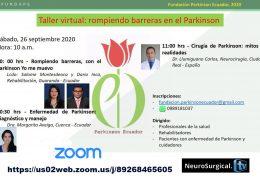 """AHORA, VIVO, VIVO, Webinar sobre Parkinsonism de Ecuador """"Rompiendo Barreras en el Parkinsonism"""""""