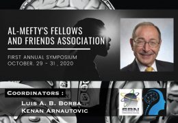 NOW LIVE………..Al Mefty's Fellows and Friends Association: 1st Annual Symposium: Oct 29 to 31, by Brazil Neurosurgery Society