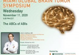 "Wednesday, University of Miami present, ""Hearing Restoration Surgery"", with Dr. John Golfinos, 5 pm EST"