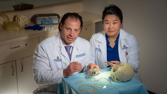 New Field Developed at Johns Hopkins to Preserve Appearance After Neurosurgery