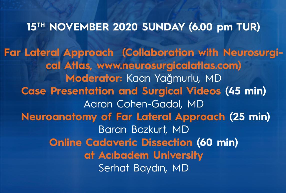 Sunday, November 15, 6 pm Turkey time,