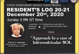 NOW LIVE, Chandra Deopujari interacting with Mumbai Neurosurgery Residents