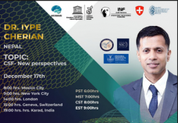 """NOW LIVE, Iype Cherian of Krishna Institute of Medical Sciences in India: """"CSF: New Perspectives"""""""
