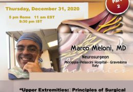 NOW LIVE, Italian Neurosurgeron Marco Meloni continues his series on Peripheral Nerve Injuries