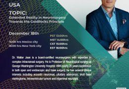 "LIVE, Walter Jean MD, ""Extended Reality in Neurosurgery: Toward the Goldilocks Principle"""