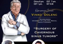 """Vinko Dolenc MD, presents January 15th, 2020 LIVE, in Juha's """"China Neurosurgery Grand Rounds"""" at 8 pm China time"""