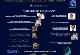 """Esta Domingo, """"Grandes Rondes de Neurocirugia de Latino Americal"""", VIVO, con tema de """"Neurocirugia en el SIGLO XXI"""""""