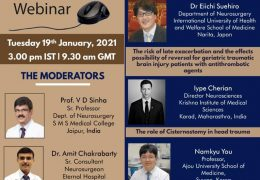 Tuesday, January 19, 2021, Webinary from the AANS