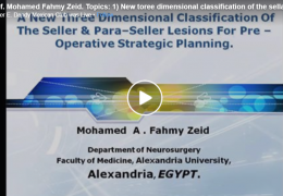 NOW LIVE, with Prof Mohamed Fahmy Zeid MD, of Egypt presenting