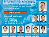 """LIVE, Workshop for Spinal Stenosis: """"How to Use the Instruments"""" Day long Webcast Thursday/Friday Jan 21/22, from Korea"""