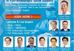 """NOW LIVE…… LIVE, Workshop for Spinal Stenosis: """"How to Use the Instruments"""" Day long Webcast Thursday/Friday Jan 21/22"""