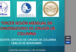 2 de Marzo, Congreso de Espina con Paolo Perieria MD de Portugal