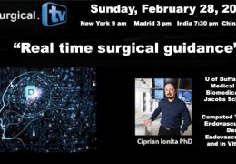 "Sunday, 9 am EST, Third in Series of Artificial Intelligence in Neurosurgery: Webcasts by UBuffalo Neurosurgery Researcher, Ciprian Ionita Phd, presenting ""Real time surgical guidance"""