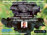 """IN LESS THAN 1 HOUR, LIVE…..Jordan Neurosurgery Grand Rounds, Dr Ibrahim Sbeih presenting, """"Unusual Intradural Spinal Lesions: Personal Experience"""""""
